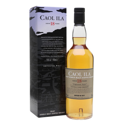 Caol Ila 18 YO Unpeated Malt