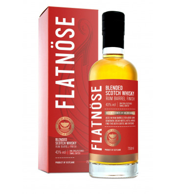 Flatnose Blended Whisky Rum...