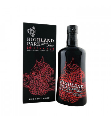 Highland Park 16YO Tattoo