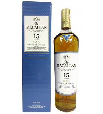 Macallan 15YO Triple Cask