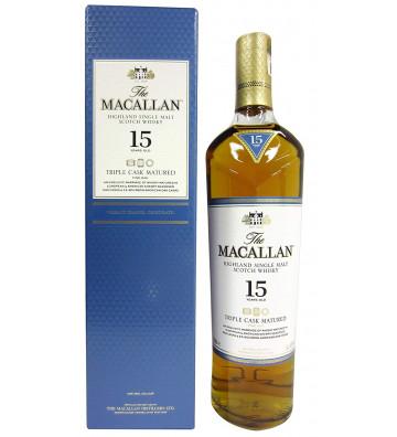 Macallan 15YO Triple Cask