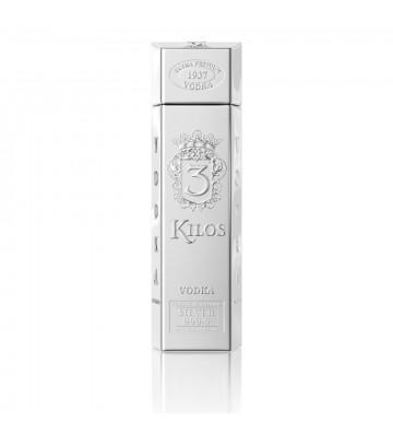 3 Kilos Silver Vodka 1L