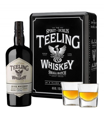 Teeling Small Batch + Szklanki