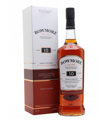 Bowmore 10 YO Dark & Intense