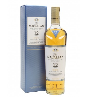 Macallan 12YO Triple Cask