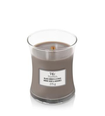 WoodWick  Black Amber &...