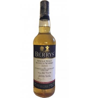Berrys' Auchentoshan 1992